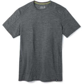 Smartwool Merino Sport 150 Hidden Camiseta Bolsillo Hombre, medium gray heather